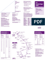 M2 - Route, Schedule