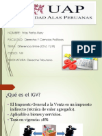 Igv y Ir ( Diapositivas)