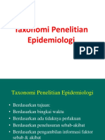 Taxonomi Desain Penelitian 2015