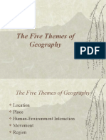 Five Themes of Geography Yong SS