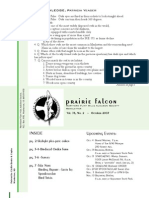 Oct-Nov 2007 Rustlin's Newsletter Prairie and Timbers Audubon Society