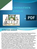 Kasus Manajemen Konflik Klp 3