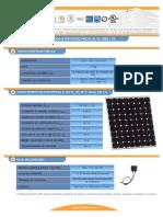 F T Modulo Fotovoltaico I150S 24ul Esp