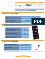 F T Modulo Fotovoltaico IS75 12 Esp