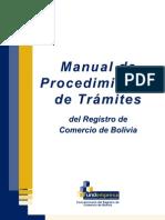 Manual de Procedimientos de Tramites