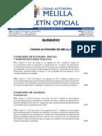 Bases Para 10 Bomberos en Melilla