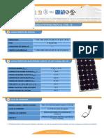 F T Modulo Fotovoltaico IS75 12ul Esp