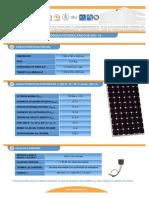 F T Modulo Fotovoltaico IS150 12 Esp