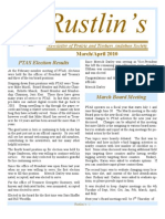 Apr-May 2010 Rustlin's Newsletter Prairie and Timbers Audubon Society