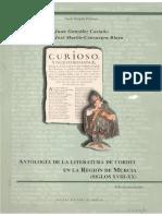 Antología de La Literatura de Cordel en La Región de Murcia Siglos Xviii-xx