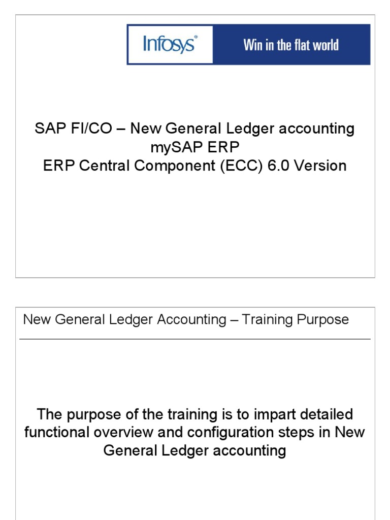 1  SAP FICO New GL Accounting Training ppt | Real Time