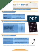F T Modulo Fotovoltaico IS150 24ul Esp