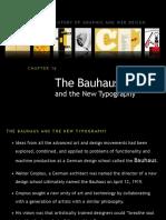 Bauhaus and New Typograph