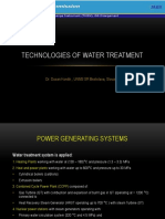 Technologies of Water Treatement FF