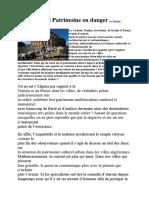Algérie SOS Patrimoine en Danger