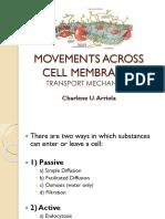 Movements Across Membranes