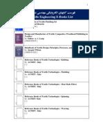 58- Textile Engineering E-Books List