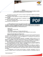 Minuta Intalnire Presedinti Sectii Civile Bacau Iunie 2016