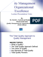 Chapter 1 Total Quality Approach