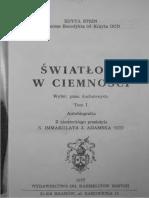 Edyta Stein -Światłość w Ciemności - Wybór Pism Duchowych - Autobiografia