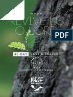 NECF 40 Days Fast & Prayer (2016)