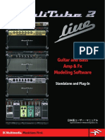 AmpliTube 2 User Manual (Japanese)