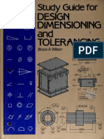 Bruse a. Wilson-Study Guide for Design Dimensioning and Tolerancing-The Goodheart-Willcox Company, Inc. (1992)