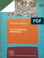 Jeauneau Edouard - La Filosofia Medieval