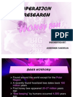 Operational Research by Bee
