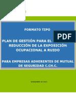 5.1 Formato Plan de Gestión de Riesgo Ruido Empresas