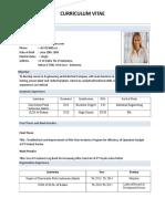 Contoh Format CV Fresh Graduate 3