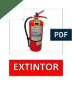 EXTINTOR - BOTIQUÍN