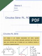 Circuitos RL RC RLC