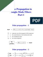 Pulse Propagation 1