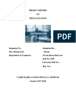 DIGITALLIZATION COMMUNCIATION