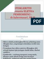 ppt. EPISKLERITIS