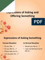 expressionsofaskingandofferingsomething