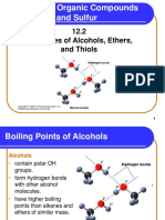 12 2 Properties of Alcohols Ethers and Thiols