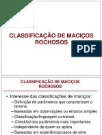 Classificacao de Macicos Rochosos