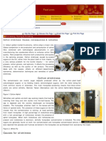 Cotton Stickiness_ Causes, Consequences & Remedies _ Processing, Dyeing & Fi