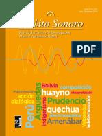 RevistaAmbitoSonoroAñoI,N°2