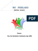 Ilmu Perilaku Dan Etika Profesi Farmasi Agustus 2015