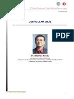CV - Ritabrata Kundu