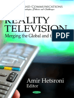 Reality Television Merging the Global and the Local