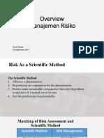 Overview Manajemen Risiko