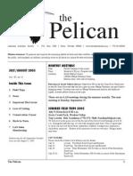 July-August 2005 Pelican Newsletter Lahontan Audubon Society