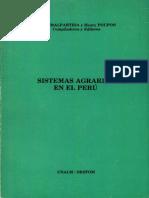 Sistemas Agrarios en El Peru