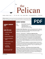 January-February 2007 Pelican Newsletter Lahontan Audubon Society