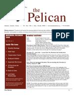 November-December 2008 Pelican Newsletter Lahontan Audubon Society