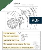 Social Science 2nd Grade the Solar System